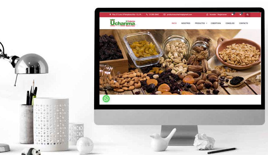 Ucharima tienda virtual
