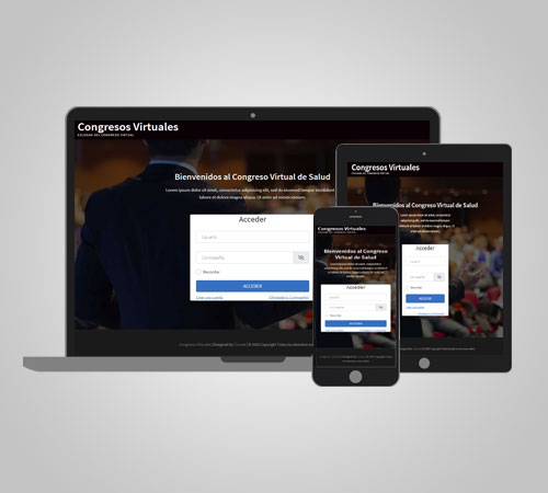 Plataforma para eventos virtuales